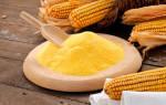 Кукурузная мука калорийность