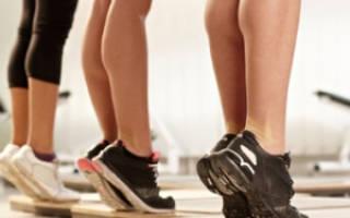 Упражнения для похудения икр