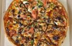 Сколько калорий в пицце