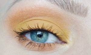 Макияж для желтых глаз